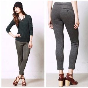 Anthropologie Cartonnier Gray Grady Cropped Pants